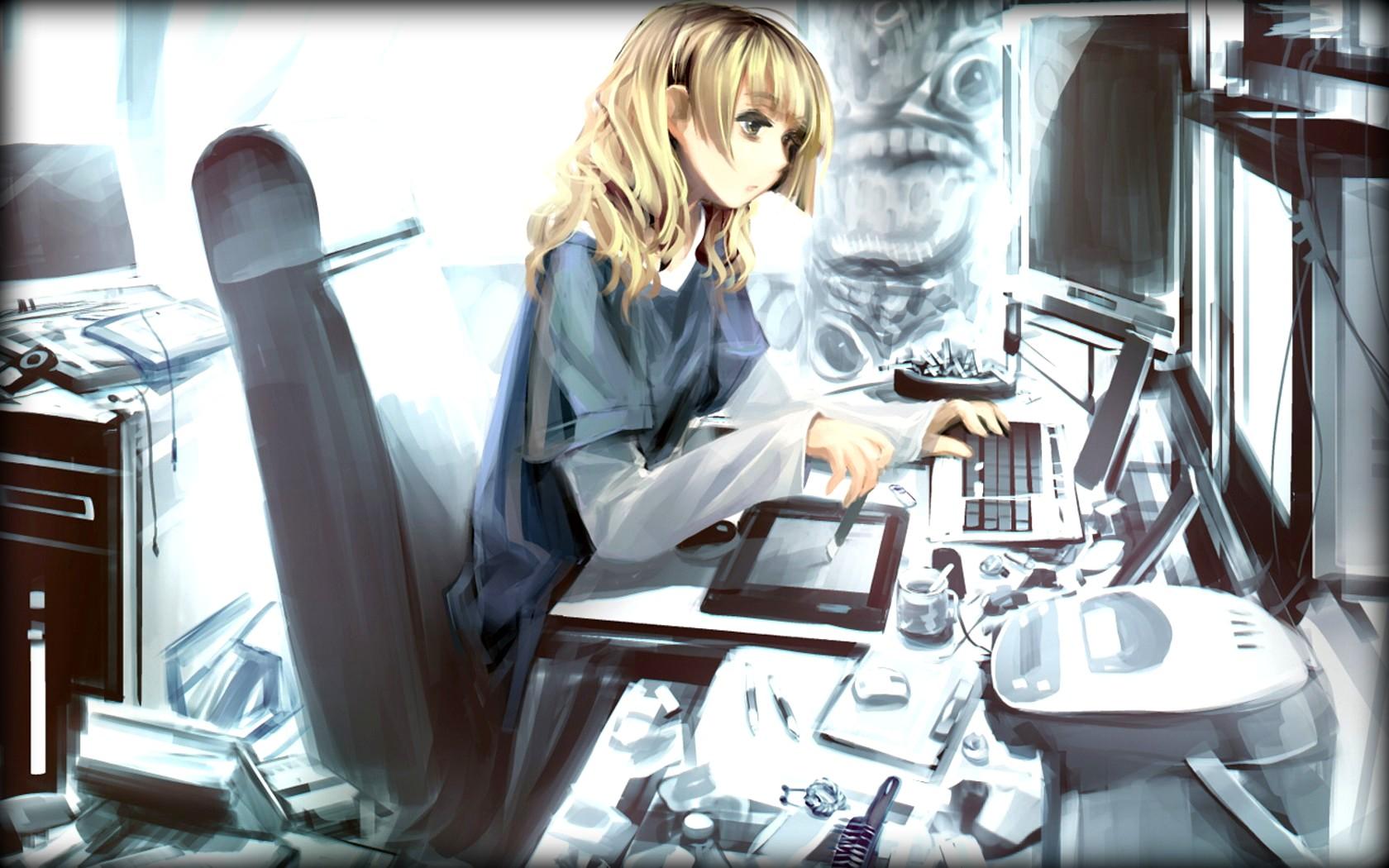 Computer Girl 8